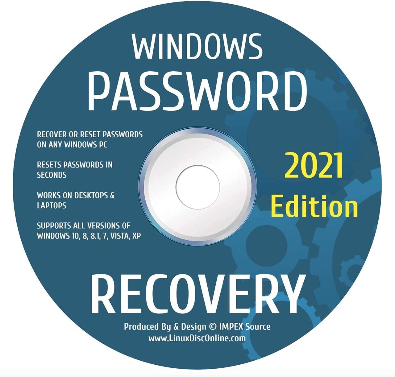 Password Reset Recovery Disk Compatible With mart Win Vis 8.1 10 8 Popular brand in the world 7