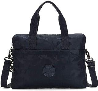 Kipling Damen ELSIL Sportliche Freizeittasche, Blau (Satin Camo Blue), Einheitsgröße