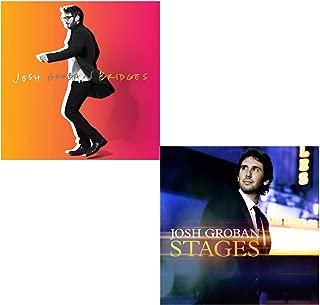 Bridges - Stages - Josh Groban Greatest Hits 2 CD Album Bundling