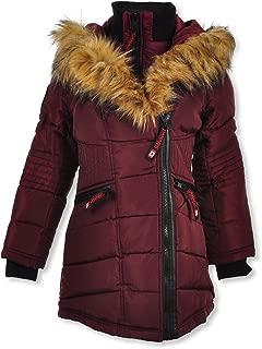Girls' Moto-Stitched Insulated Jacket