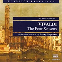 An Introduction To … Vivaldi: The 4 Seasons: The Pace Increases Eight-Fold In Concluding Downwards Scale