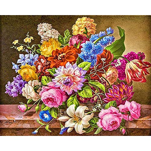 Ahpllh 5D DIY Diamond Painting Cross stitch kit diamond embroidery embroidery mosaic home decoration 50x60cm