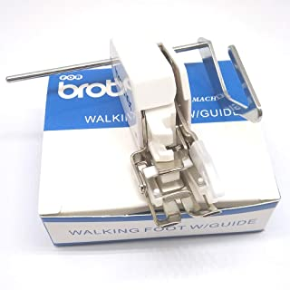 HONEYSEW Even Feed Walking Foot Sewing Machine Presser Foot SA140 for Brother Sewing Machine