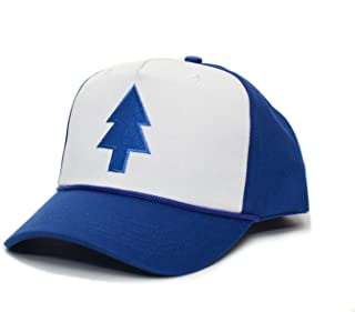 Dipper Blue Pine Hat Embroidered Cloth & Braid Adult One Sz Royal/White Baseball Cap