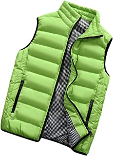 Amazon.es: Verde - Chalecos / Ropa de abrigo: Ropa