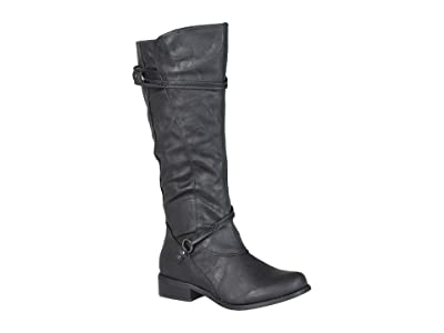 Journee Collection Harley Boot (Black) Women