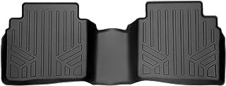 SMARTLINER Custom Fit Floor Mats 2nd Row Liner Black for 2019-2021 Nissan Altima