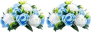 Best fake blue flower arrangements Reviews