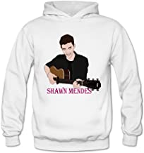 DCX Clothing Women's Rock And Pop Shawn Mendes Tour Hoodies White