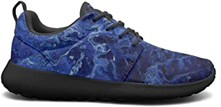 leagtniei7 Blue Abstract Oil Paints Womens 2019 Ultra Lighweight Sports Shoes