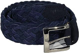 40 Colori - Cintura in Corda e Pelle Scamosciata
