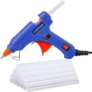 Hot Glue Gun,ccbetter upgraded version Mini Hot Melt Glue...