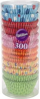 Wilton 300 Pieces Seasons Standard Baking Cups, Multi-Colour, 3 Count