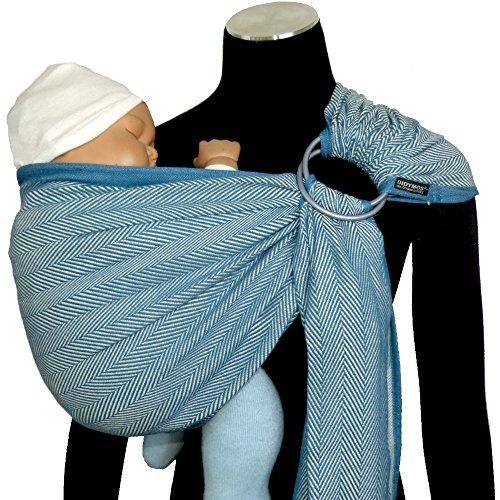 Organic Cotton Size 4 DIDYMOS Woven Wrap Baby Carrier Metro Orly 370 cm