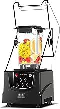 QINGZHUO Smoothie Blender,mélangeur Et Broyeur À Glace 1200W,contrôle De Vitesses Variables,2L Peuvent Etre Faits De Glace...
