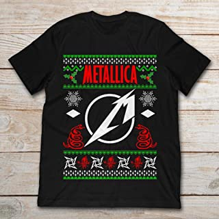 Metallica Ugly Christmas Sweater.