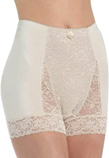Ahh By Rhonda Shear Women's Pin Up Lace Control Full Coverage Panty