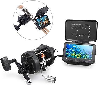 LIXADA 魚群探知機 水中釣りカメラ フィッシュファインダー 高解像度カメラ 140°広角 15M / 30Mケーブル