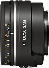 Sony 50mm f/1.8 SAM DT Lens for Sony Alpha Digital SLR Cameras - Fixed