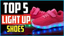 AFFINEST High Top USB Charging LED Shoes Flashing Fashion Sneakers for Kids Boots Pink27 M EU 9.5 M US Toddler