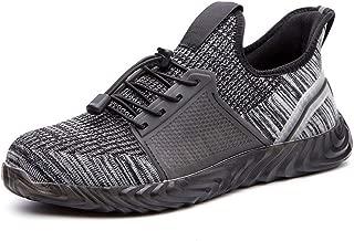 Men Safe Shoes Anti-Smashing Anti-Piercing Non-Slip Breathable Sneakers Work Shoes