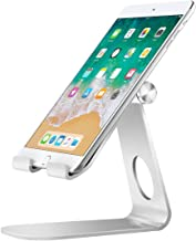 MoKo Tablet Stand, 210 Degree Multi-Angle Rotatable Phone Desktop Holder Fit iPhone 11 Pro Max/11 Pro/11, iPad 10.2