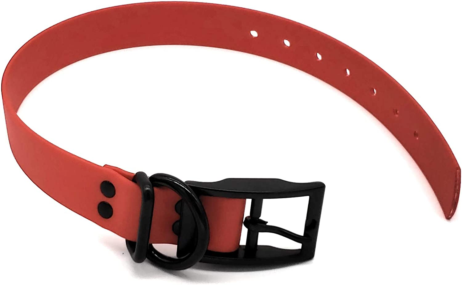 S,XS, and Tiny Biothane Dog Collars, Dog Collar, Buy a Collar Help a Veteran. Weather and Waterproof Puppy and Dog Collar with Black Hardware for Small and Tiny Dogs (Tiny(7.259.25inches), Red)