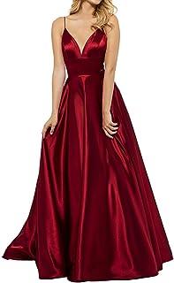Bordeaux rot lang abendkleid Abendkleid Bordeaux