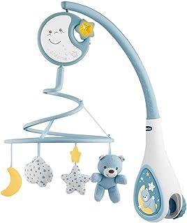 Chicco Next2Dreams Mobile pour Lit Bébé avec Lumières et Musique 3 en 1 - Compatible avec le Berceau Next2Me, avec Effets ...