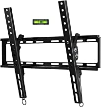 BLUE STONE TV Wall Mount Bracket Tilt Low Profile for Most 23-55 inch Flat Screen, LED, 4K TVs, with Max VESA 400x400mm Holds up to 66lbs and Fits 8