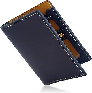 NAOKING 財布 メンズ 二つ折り 薄い財布 本革 小銭入れ