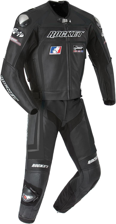 Joe Rocket Unisex-Adult Ultra-Cheap Deals Race Sale item Black Suit Hi-Viz