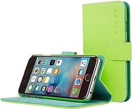 iPhone 6/6S caso, SnuggFunda de piel sinttica funda con garanta de por vida para Apple iPhone 6, Verde