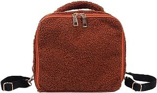 Ultramall Women Ladies Fashion Girls Solid Flock Handbag Shoulder Crossbody Backpack Bags For Women