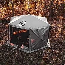 Gazelle Tents Weather-Resistant, UV-Resistant Waterproof Gazebo Tent Wind Screen Panel, Desert Brown (3 Pack)