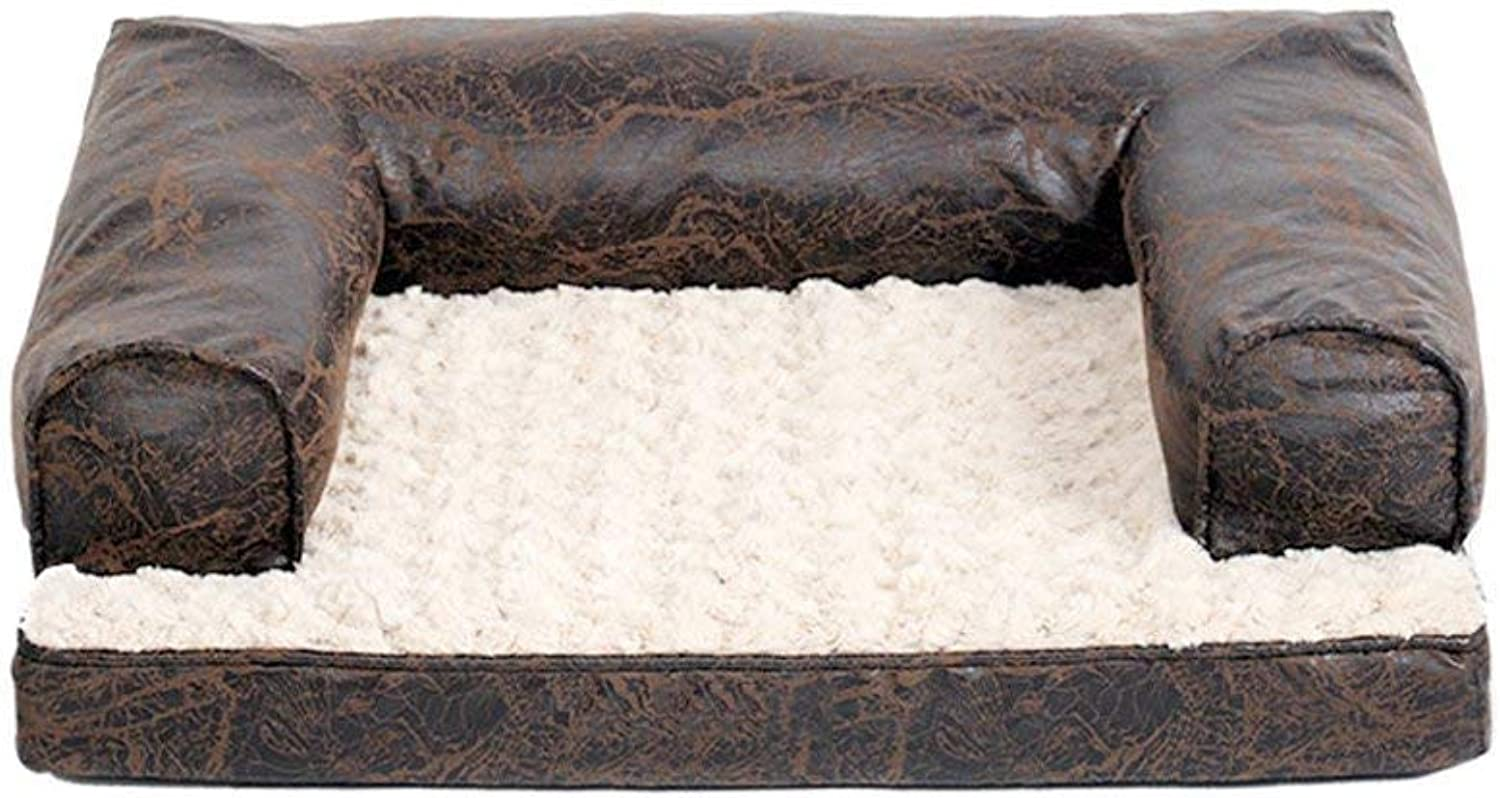 CHONGWFS Seasons Removable and Washable Dog Bed Comfortable