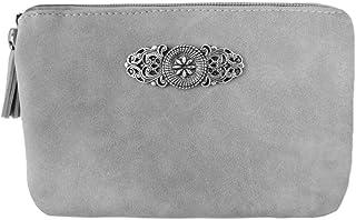 Trachtenland Trachten Umhängetasche Sofia - Kleine Handtasche Abendtasche mit Metallapplikation zu Dirndl und Lederhose
