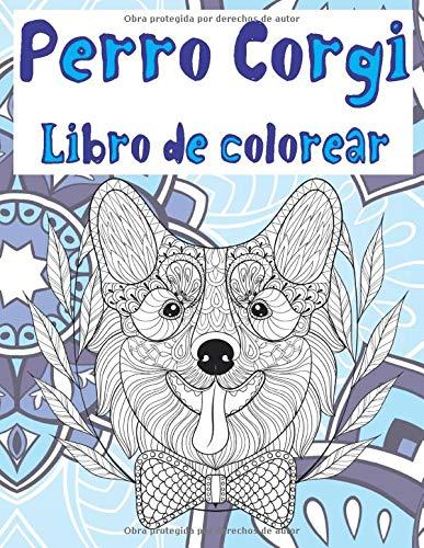 Perro Corgi - Libro de colorear
