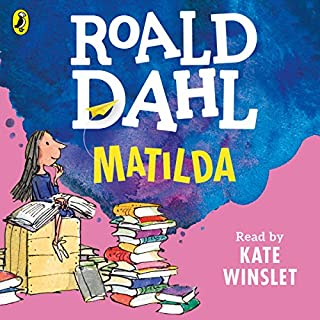 Matilda                   By:                                                                                                                                 Roald Dahl                               Narrated by:                                                                                                                                 Kate Winslet                      Length: 4 hrs and 18 mins     1,168 ratings     Overall 4.8