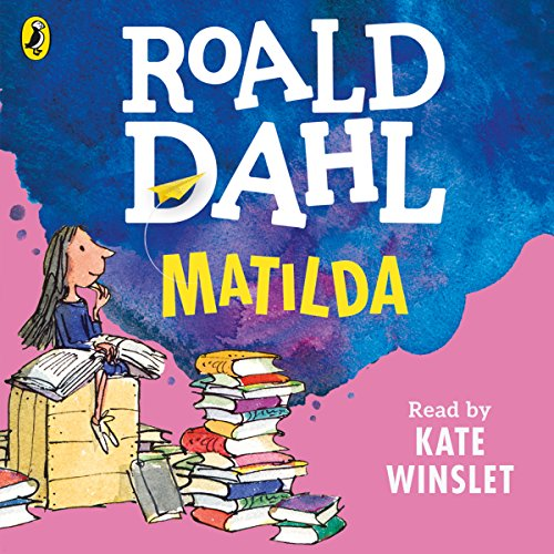 Matilda                   By:                                                                                                                                 Roald Dahl                               Narrated by:                                                                                                                                 Kate Winslet                      Length: 4 hrs and 18 mins     1,230 ratings     Overall 4.8