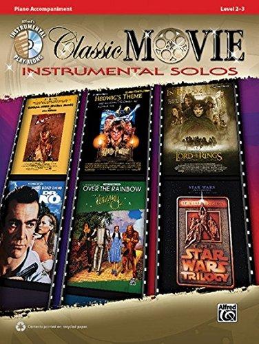 Classic Movie Instrumental Solos: Piano Accompaniment (incl. CD): Piano Acc., Book & CD (Pop Instrumental Solo Series)