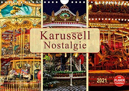 Karussell - Nostalgie (Wandkalender 2021 DIN A4 quer)
