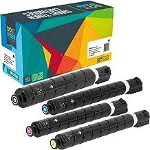 Do It Wiser Compatible Toner Cartridge Replacement for GPR-53 Canon C3525i C3525 C3325i C3330i C3530i C3320 (4 Pack)