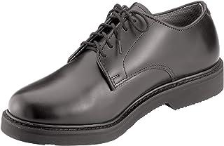 Soft Sole Uniform Oxford/Leather Shoe