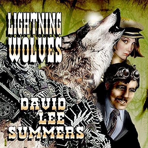 Lightning Wolves audiobook cover art