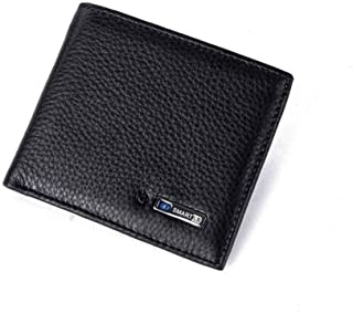 Genuine Leather Bluetooth Smart Wallet For Men Anti Lost...