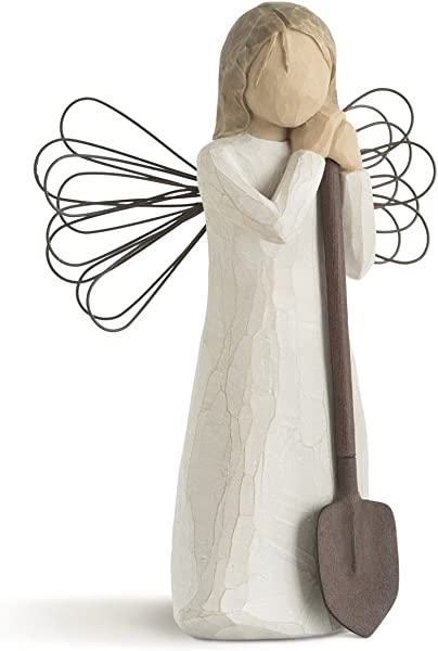 Willow Tree Angel Of The Garden Sculpted Hand Painted Figure