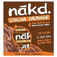 カカオオレンジ色マルチパック4×35グラムから無料Nakd (x 6) - Nakd Free From Cocoa Orange Multipack 4 x 35g (Pack of 6) [並行輸入品]