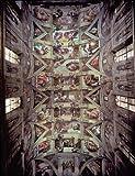 Editions Ricordi 5901N32017 Artstones - Puzzle de 1500 Piezas Techo de la Capilla Sixtina de Miguel Ángel