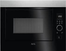 AEG mbe2658d-m integrierter Mikrowelle kombiniert 26 L 900 W Schwarz, Grau – Mikrowelle integriert, Mikrowelle kombiniert, 26 l, 900 W, Haptik, Schwarz, Grau